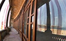 Punta Begoña recupera sus ventanales