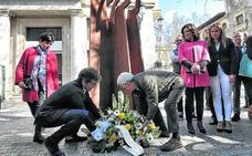 Homenaje en Vitoria a las víctimas del franquismo