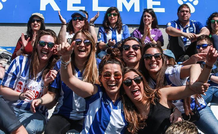 Fiesta del fútbol femenino en Mendizorroza