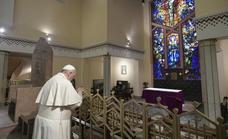 El Papa pide no caer en «la división» ni «el integrismo» durante el día grande de la Iglesia en Marruecos