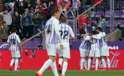 El VAR evita prolongar la buena racha del Valladolid