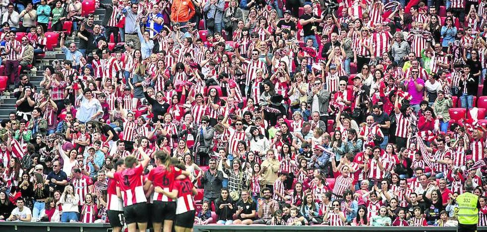 Más público que en siete estadios de Primera División