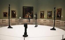 Un ejército de Giacometti invade el Museo del Prado