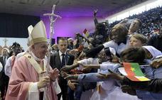 El Papa se despide de Marruecos