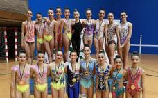 Sakoneta mantiene su dominio en Euskadi en la gimnasia rítmica
