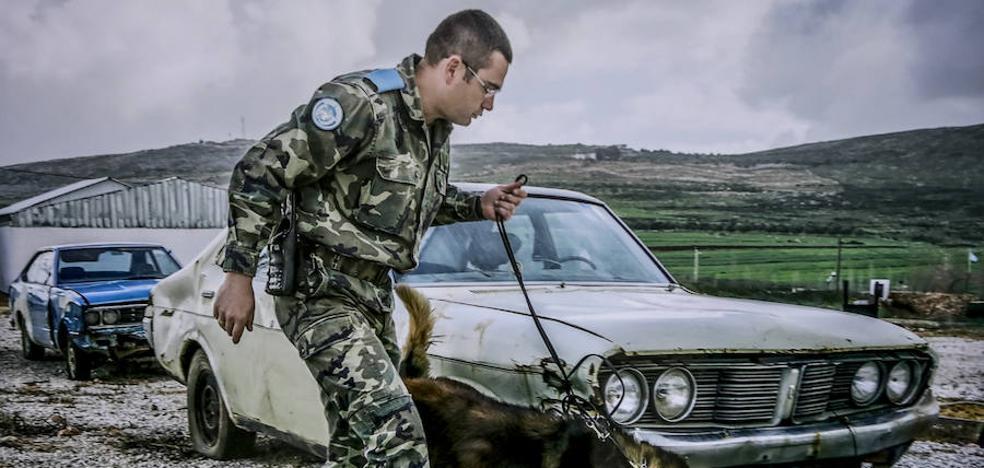 Vitoria muestra la «calma tensa» de los militares en Líbano