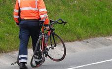Fallece un ciclista de Ondarroa arrollado por una furgoneta en Markina