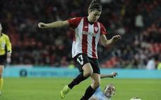 Lucía García, la pichichi del Athletic, abandona lesionada la Selección