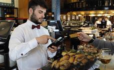 El pago con tarjetas de crédito alcanza ya el 70% en los comercios de Bilbao