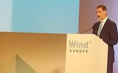 El Rey inaugura hoy en el BEC la cumbre eólica europea