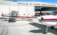 Heraclio Alfaro remonta el vuelo con el H-24 de Foronda
