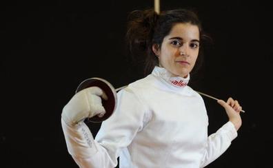 María Ascasso competirá en el circuito europeo de esgrima