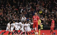 Un Valencia de récord contiene el 'efecto Zidane'