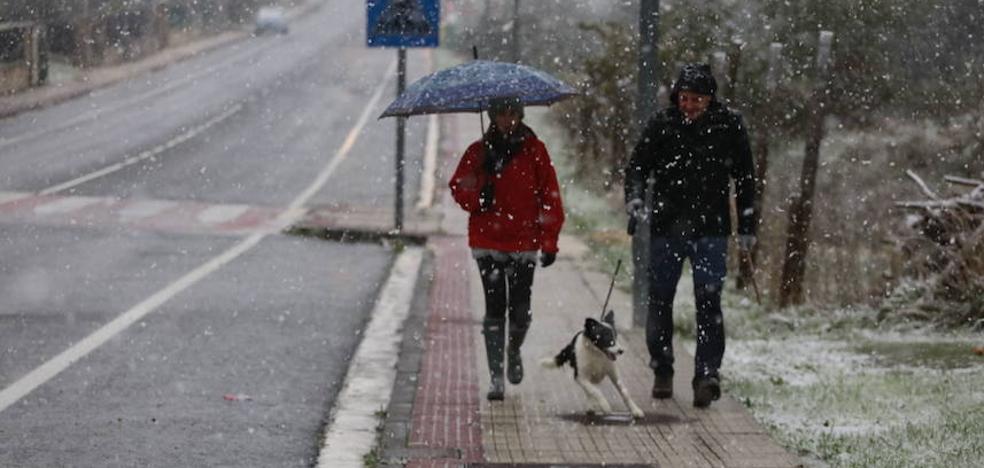 Activado el aviso amarillo por nieve en Álava