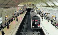 Desalojan un convoy en la estación de metro de Abando porque una puerta «no cerraba bien»