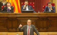 El Parlament pone contra las cuerdas a Torra y exige elecciones o una moción de confianza