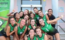 El Club Voleibol Sestao cierra en casa una temporada para la historia