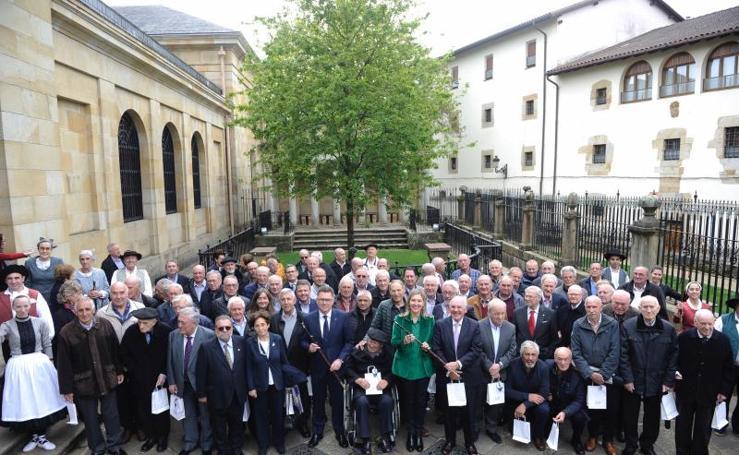 Homenaje a los alcaldes de Eudel