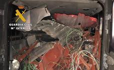 Investigan a cuatro personas por el robo de chatarra en el antiguo peaje de Ameyugo