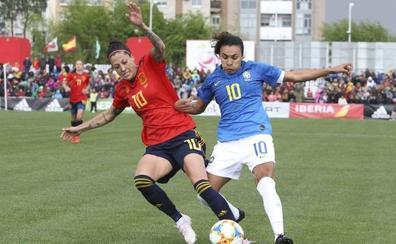 España se rearma y remonta a Brasil en seis minutos