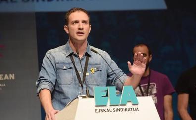 Mikel Lakuntza, un sindicalista de cantera feminista, euskaldún y aficionado a la montaña