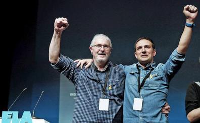 Mitxel Lakuntza se estrena en ELA con la defensa de la huelga «sin complejos»