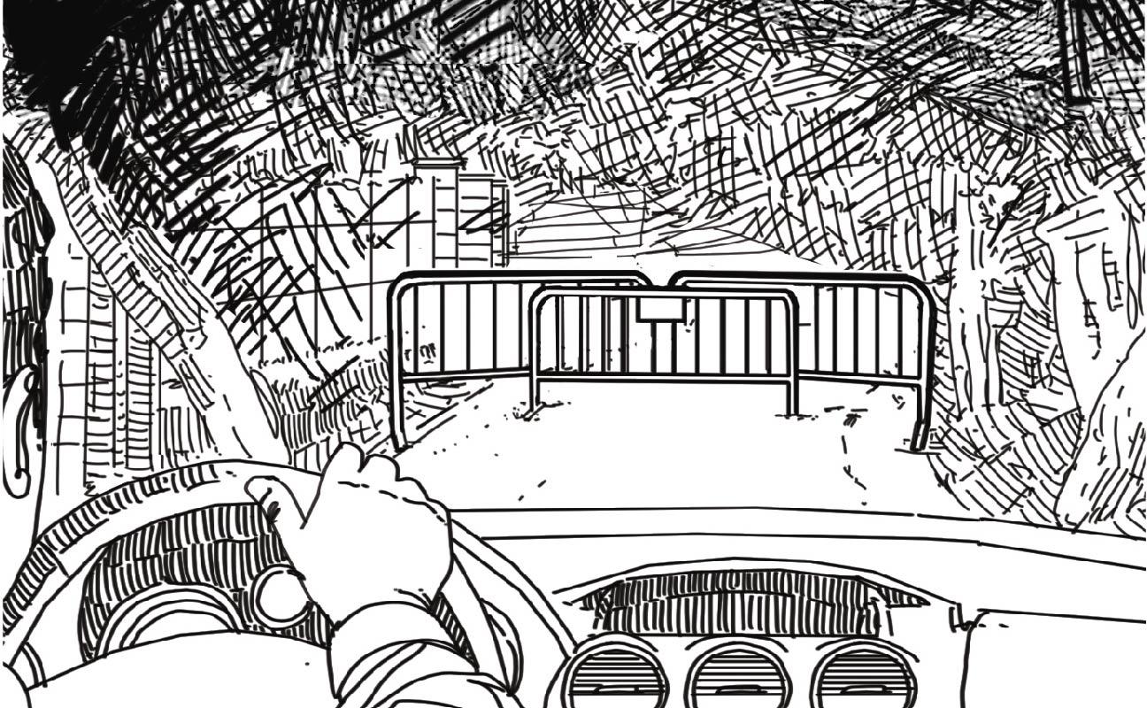 La reconstrucción del crimen de Llanes, paso a paso en viñetas