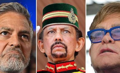 Los famosos boicotean al sultán de Brunéi