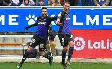Jonathan Silva hiela Mendizorroza con un gol en el descuento
