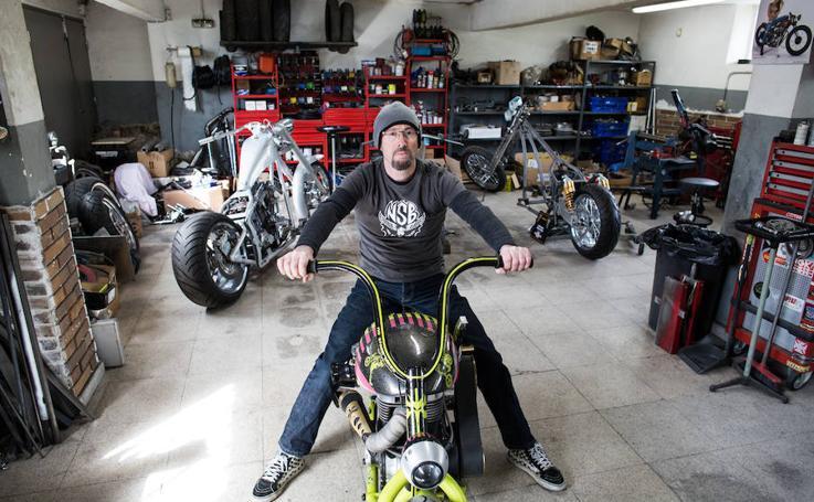Las motos de José Luis Sánchez