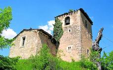 La iglesia de Sáseta entra en la lista roja