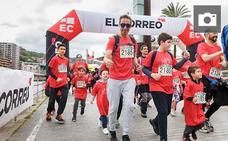 Búscate en las fotos de la Carrera Familiar Solidaria de EL CORREO