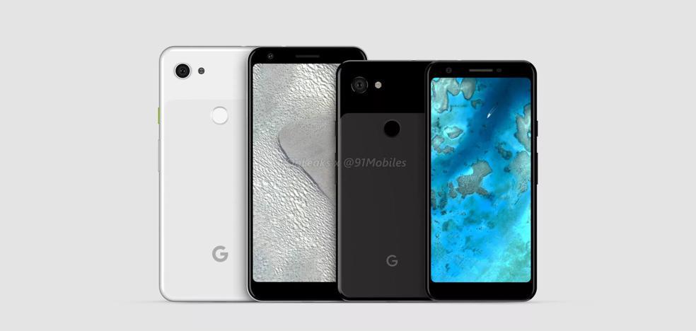 Google filtra los nuevos Pixel, sus smartphones más económicos