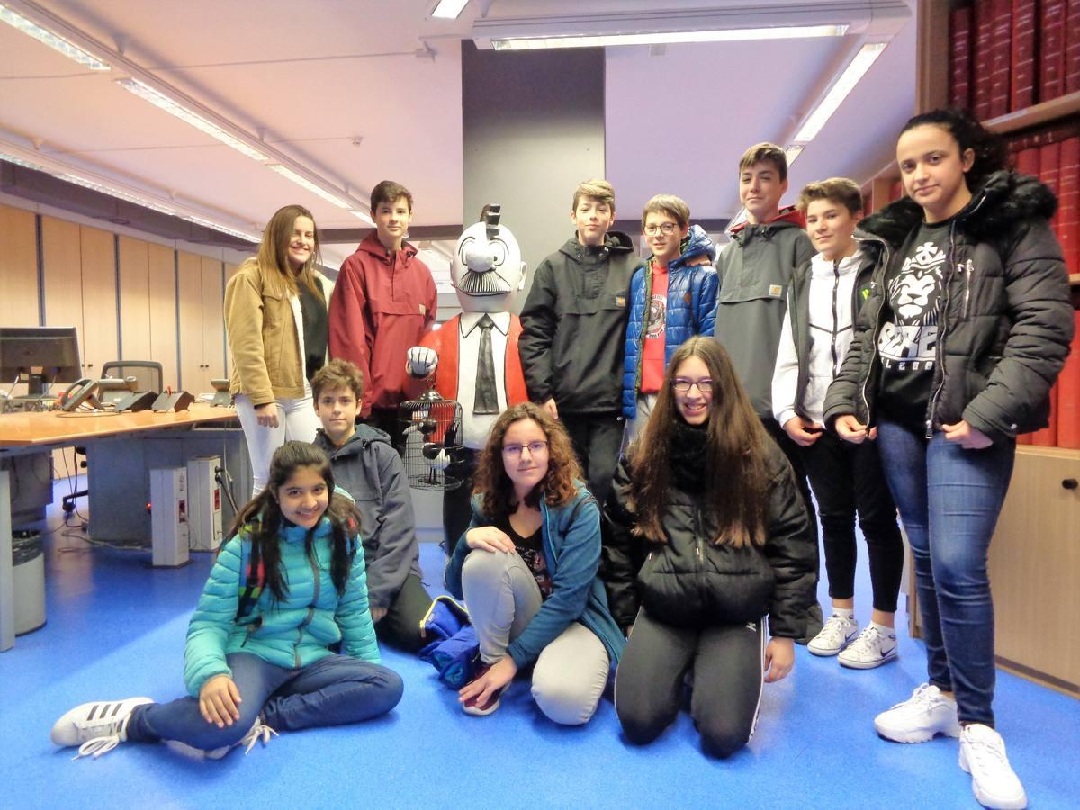 Visita centro escolar Ikasbidea (Vitoria-Gasteiz) - 26 y 28 de marzo de 2019