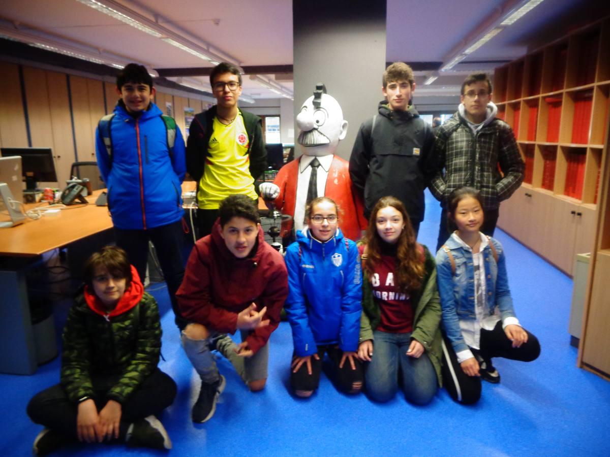 Visita centro escolar Koldo Mitxelena (Vitoria-Gasteiz) - 2 y 4 de abril de 2019