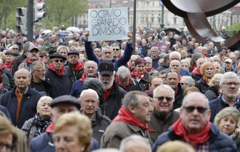 Los pensionistas vascos entran en campaña: convocan una manifestación el sábado