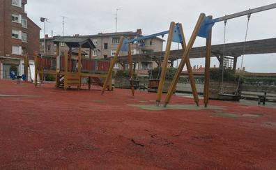 Renuevan el parque infantil de La Convivencia en Barakaldo
