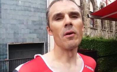 Irizar, experto en la París-Roubaix, analiza el 'sterrato' de la Itzulia