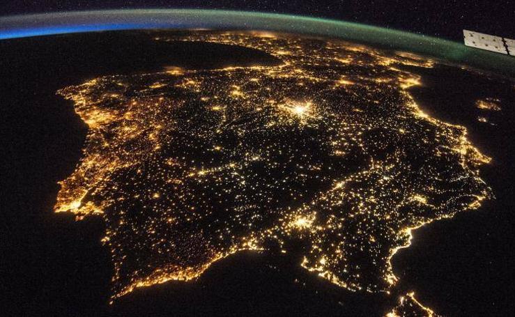 La contaminación lumínica en Bilbao