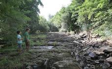 Las captaciones para el consumo han puesto en riesgo varios ríos y arroyos de Urdaibai