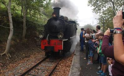 ¡Que viene el tren!