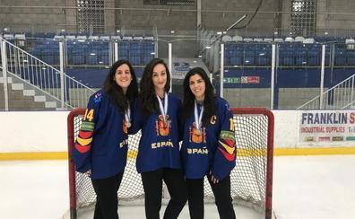 Tres alavesas logran el bronce en el Mundial de tercera categoría