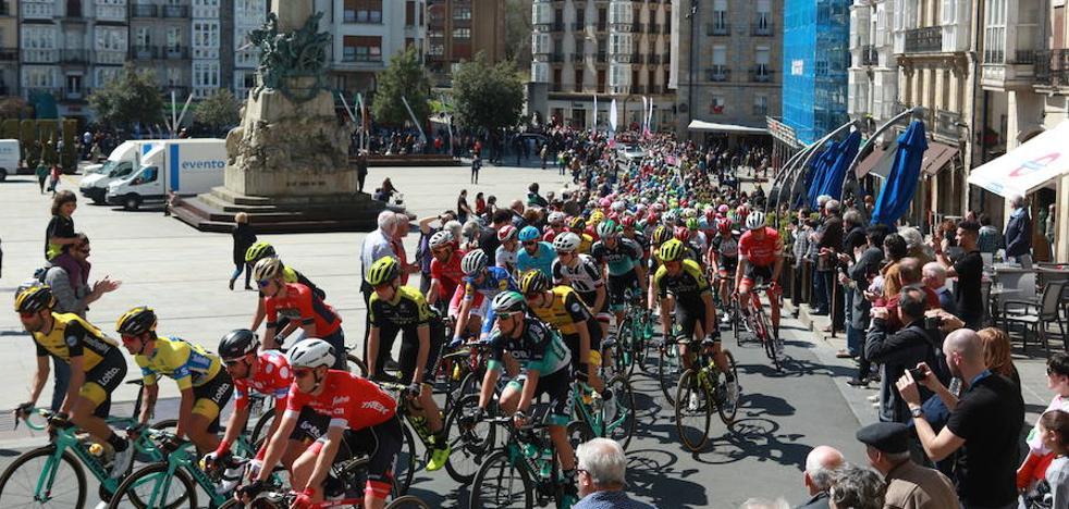 La Itzulia cortará este jueves una veintena de calles en Vitoria