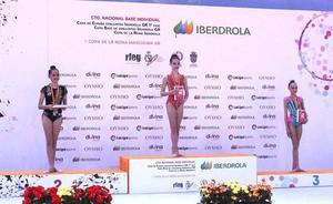 Sakoneta vuelve con tres medallas del nacional base individual de Guadalajara