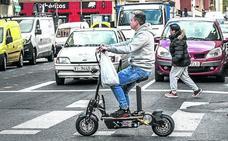 Vitoria sacará los patinetes eléctricos de las aceras y limitará su velocidad a 20 km/h