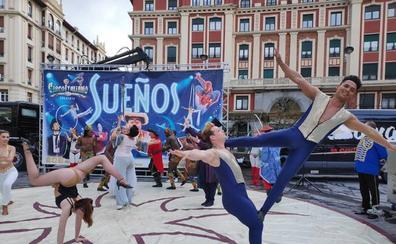 Aterriza en Barakaldo el circo italiano con el nuevo espectáculo 'Sueños'