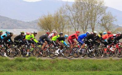 Cortes de tráfico por el paso de la quinta etapa en Bizkaia y Gipuzkoa