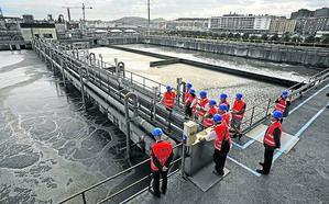 La depuradora de Galindo cubrirá sus piscinas para evitar los malos olores
