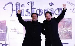 Iglesias llama a llenar las urnas de las «verdades» de la gente corriente