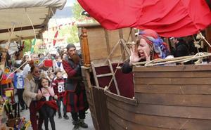 Desembarco pirata en Etxebarri